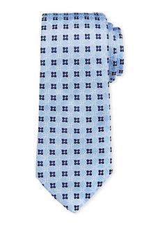 Ike Behar Floral Print Silk Tie