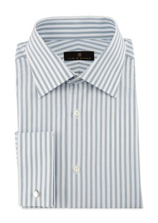 Ike Behar Bold-Stripe Dress Shirt