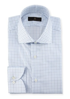 Ike Behar Check Dress Shirt