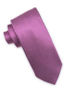 Ike Behar Dot Silk Tie