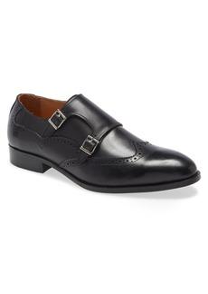 Ike Behar Easton Double Monk Strap Shoe (Men)
