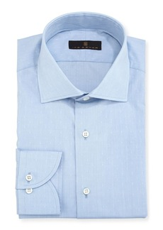 Ike Behar Gold Label Dobby Cotton Dress Shirt