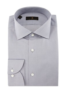 Ike Behar Gold Label Milano Mini-Houndstooth Dress Shirt