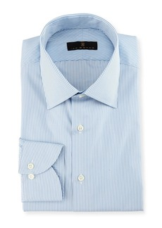 Ike Behar Gold Label Striped Dress Shirt