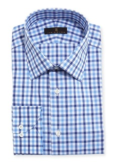 Ike Behar Gold Label Tattersall Dress Shirt