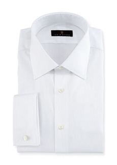 Ike Behar Gold Label Textured-Stripe Dress Shirt