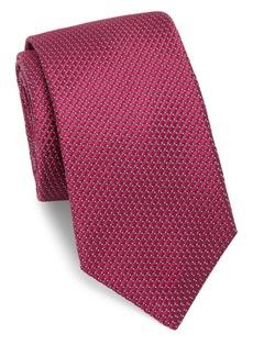 Ike Behar Medallion Silk Tie