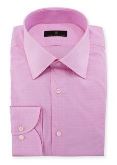 Ike Behar Men's Houndstooth Dress Shirt