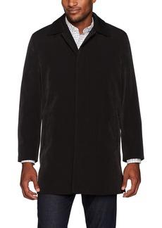Ike Behar Men's Omaha Classic Coat with Zip Out Liner