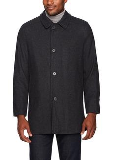 Ike Behar Men's Seville Quilted Lining Wool Jacket