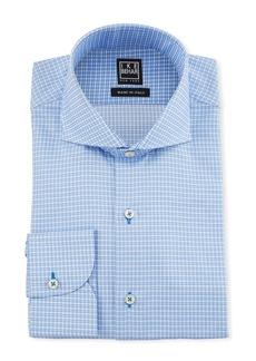 Ike Behar Men's Check Cotton Dress Shirt