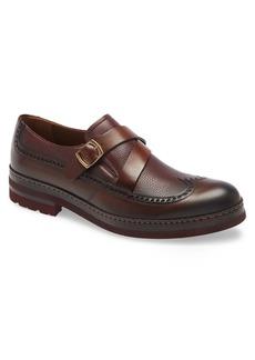 Men's Ike Behar Fusion Monk Strap Shoe