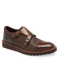 Men's Ike Behar Monza Monk Strap Shoe