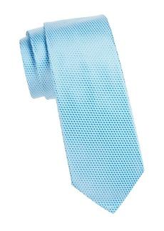 Ike Behar Microdot Silk Tie