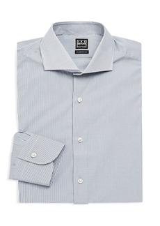 Ike Behar Modern-Fit Check Dress Shirt