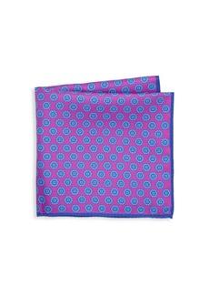 Ike Behar Silk Pocket Square