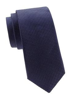 Ike Behar Woven Jacquard Silk Tie