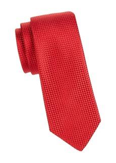 Ike Behar Woven Silk Tie
