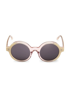 illesteva Frieda 48MM Round Sunglasses