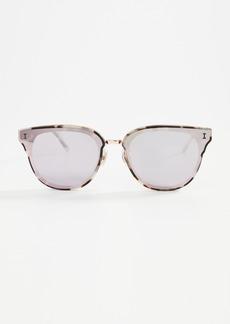 Illesteva Aoyama White Tortoise Sunglasses