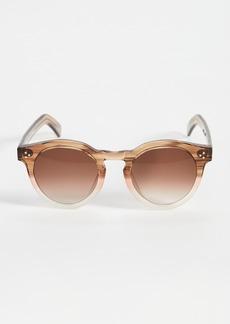 Illesteva Leonard II E Blush Oak Sunglasses