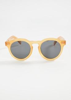 Illesteva Leonard II E Honey Gold Sunglasses