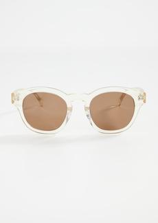 Illesteva Madison Champagne Sunglasses