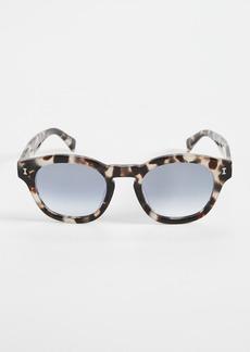 Illesteva Madison White Tortoise Sunglasses