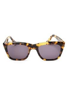 Illesteva Unisex Sun Santa Fe Square Sunglasses, 50mm