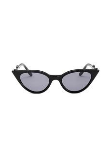 illesteva Isabella 52MM Cat Eye Sunglasses