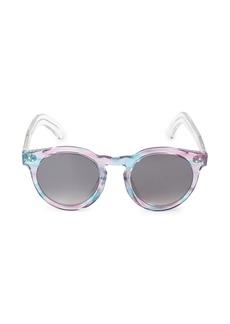 illesteva Leo II 50MM Oversized Round Sunglasses