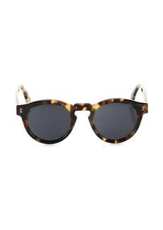 illesteva Leonard 48MM Classic Round Sunglasses