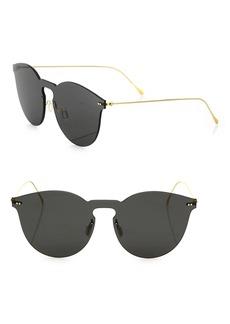 illesteva Leonard II Mask 50MM Round Sunglasses