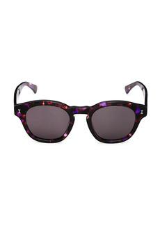 illesteva Madison 48MM Round Sunglasses