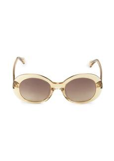 illesteva Mathilde 51MM Oval Sunglasses
