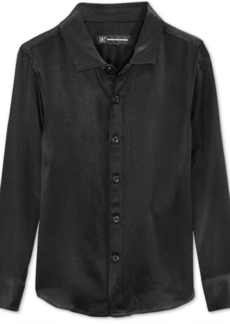 INC I.n.c. Boys' Match-To-Dad Satin Shirt, Created for Macy's
