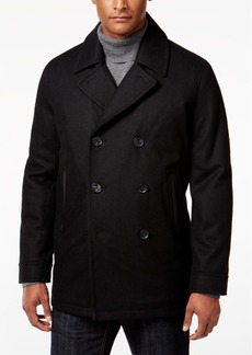 INC I.n.c. Men's Amberson Double-Breasted Pea Coat, Created for Macy's