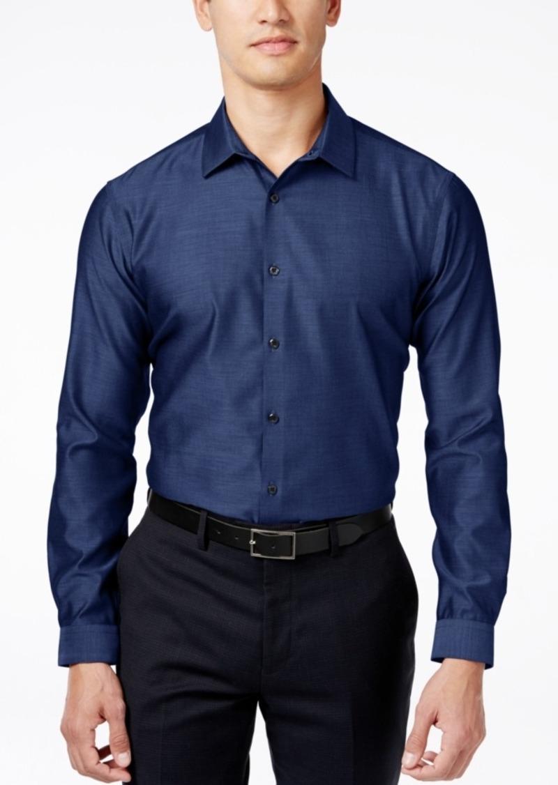 INC I.n.c. Men's Blake Long-Sleeve Non-Iron Shirt, Created for Macy's
