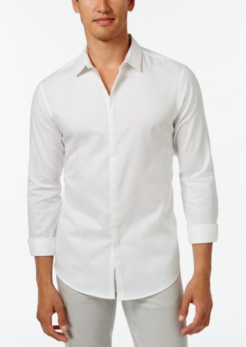 Inc International Concepts Men's Campbell Long-Sleeve Shirt, Only at Macy's