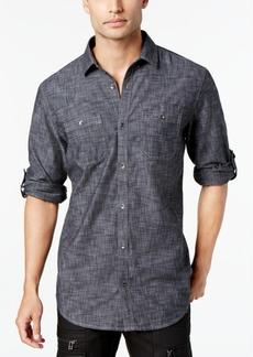 Inc Men's Chambray Dual-Pocket Shirt, Created for Macy's