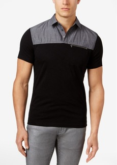 INC I.n.c. Men's Colorblocked Cotton Polo, Created for Macy's
