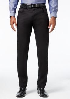 INC I.n.c. Men's Deep Black Stretch Pants, Created for Macy's
