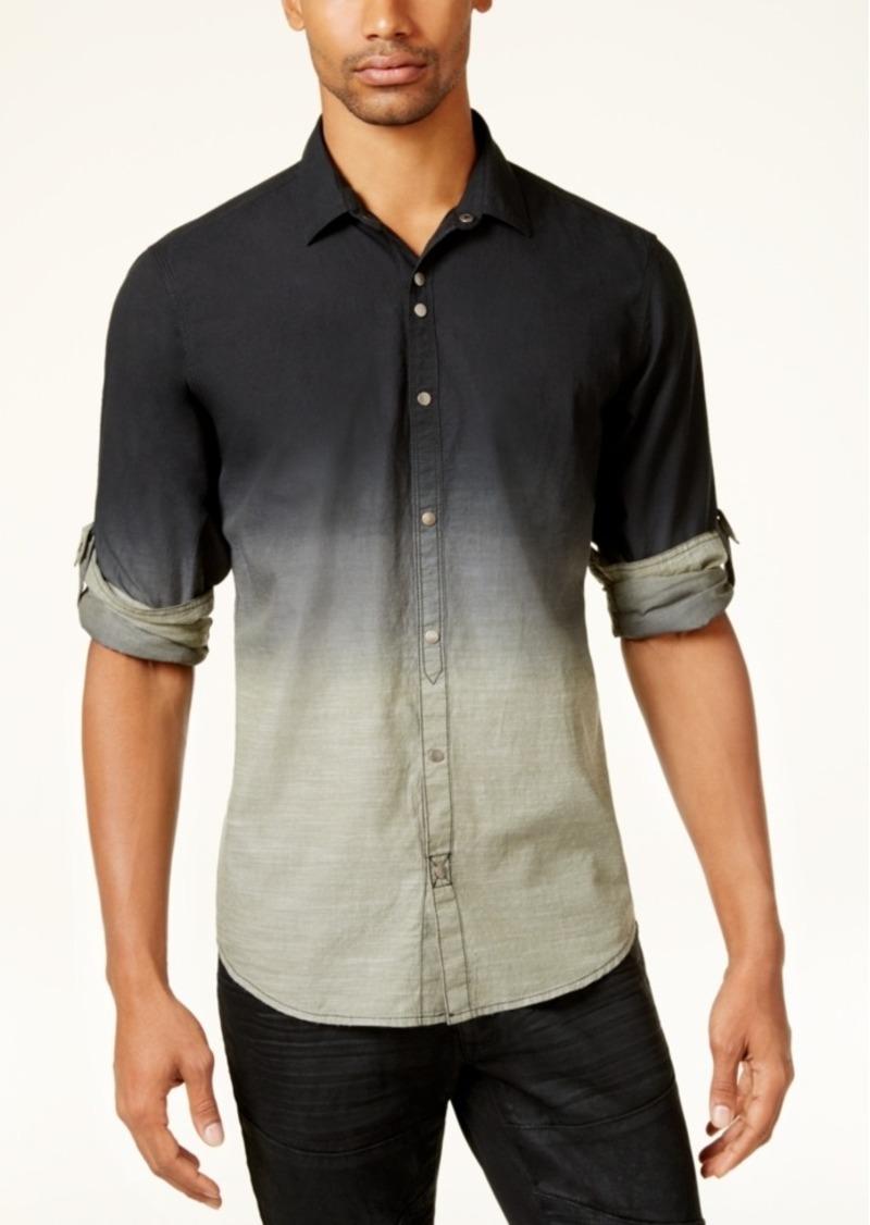 Inc inc international concepts men 39 s dip dyed shirt for Mens dip dye shirt