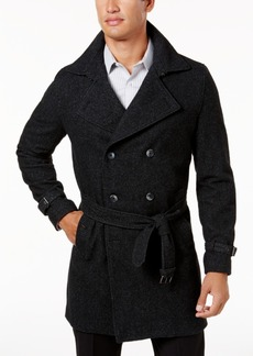 INC I.n.c. Men's Double-Breasted Trench Coat, Created for Macy's
