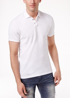 INC I.n.c. Men's Gel-Striped Polo, Created for Macy's
