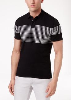 INC I.n.c. Men's Gel-Striped Polo, Created for Macy's