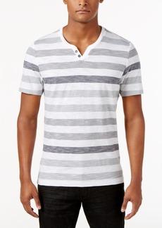 INC I.n.c. Men's Heathered Striped T-Shirt, Created for Macy's
