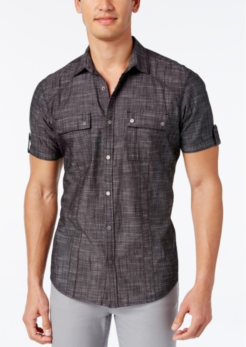 Inc International Concepts Men's Helix Short-Sleeve Shirt, Only at Macy's