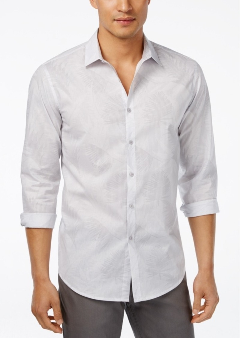 Inc International Concepts Men's Jared Long-Sleeve Shirt, Only at Macy's