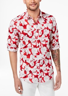 INC I.n.c. Men's Kevin Floral Shirt, Created for Macy's